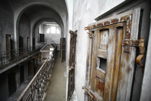 Abandonado La Cárcel Foto de stock y más banco de imágenes de Abandonado