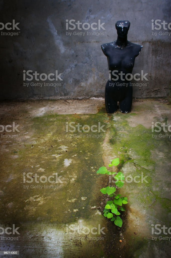 abandoned puppet royalty-free stock photo