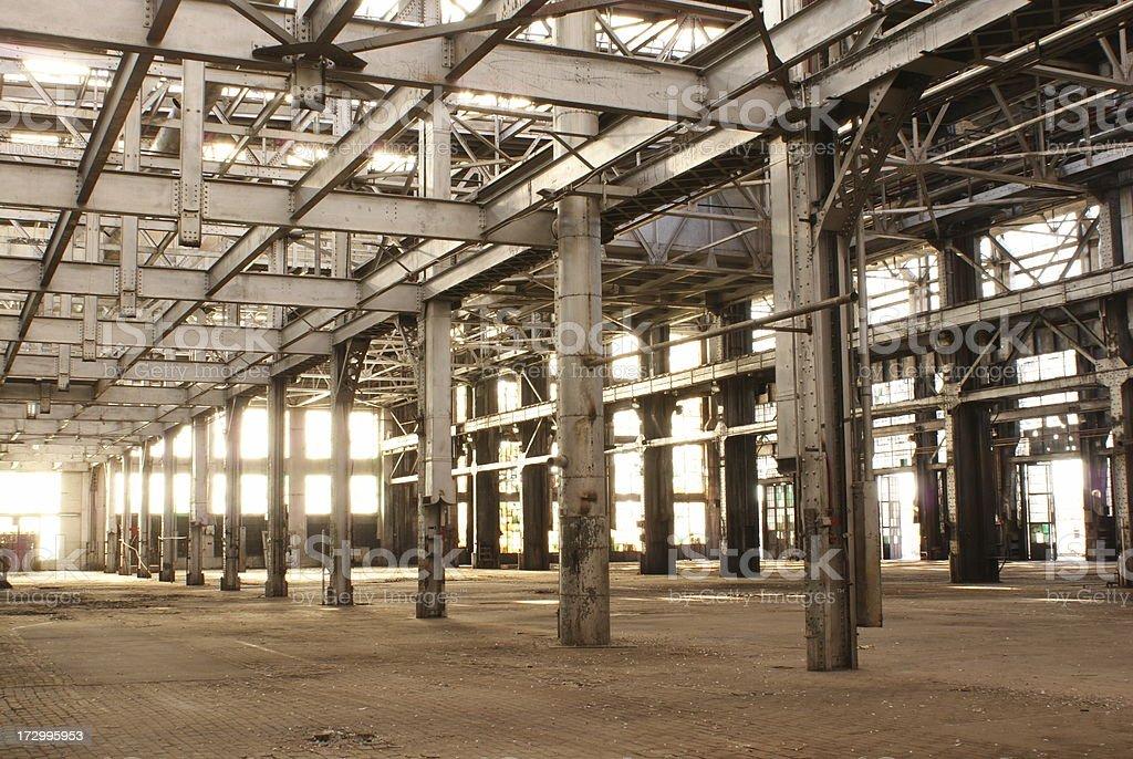 Verlassenen Railyard Lizenzfreies stock-foto