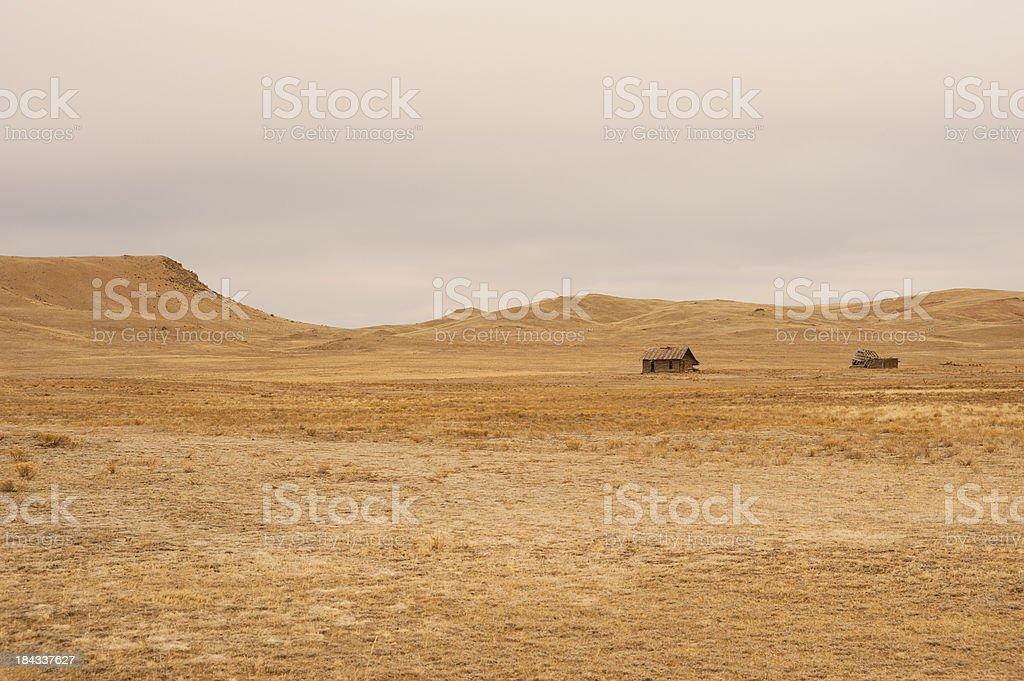 Abandoned Ranch Cabin royalty-free stock photo