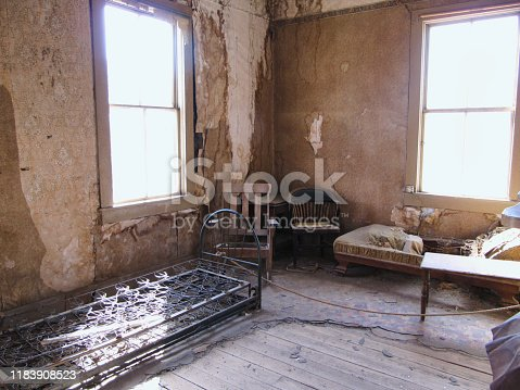 Abandoned Room of the Ghost town Bodie
