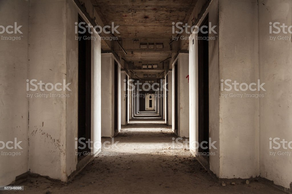 Abandoned Room stock photo