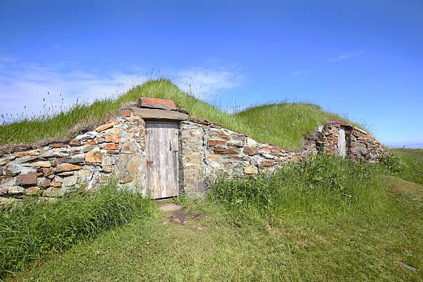 Abandonné Root Cellar d'Elliston, Terre-Neuve, au Canada - Photo