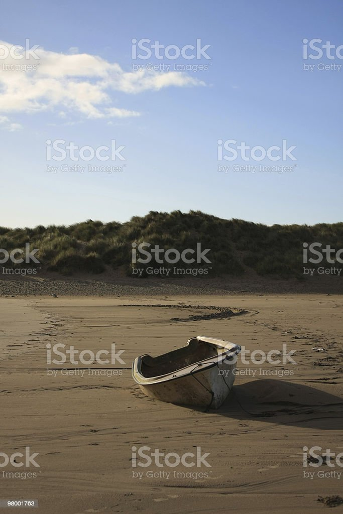 Abandoned Rowing Boat royalty-free stock photo