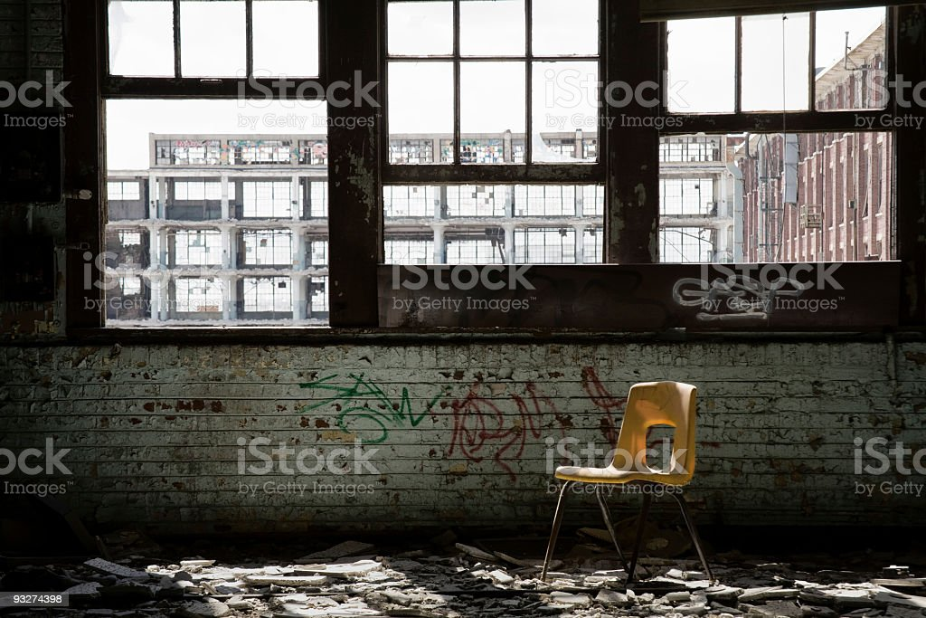 Abandoned School royalty-free stock photo