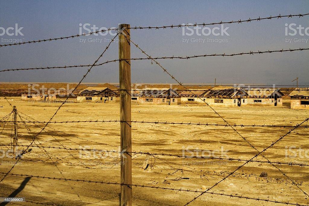 abandoned settlement royalty-free stock photo