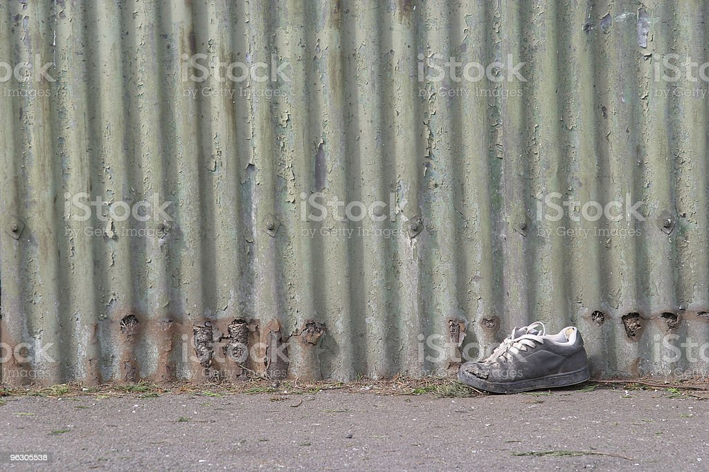Abandoned Shoe royalty-free stock photo