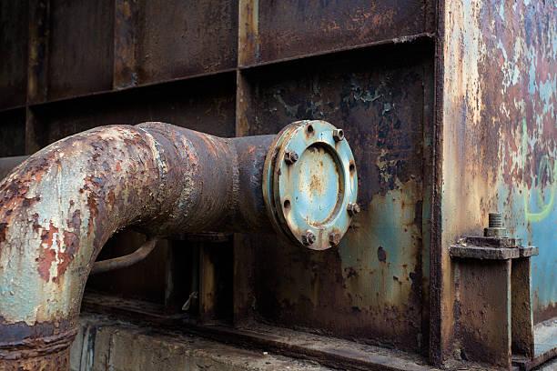 Verlassenen steel mill – Foto