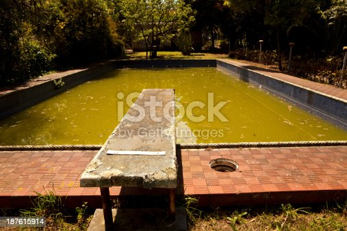 Abandoned Swimming Pool