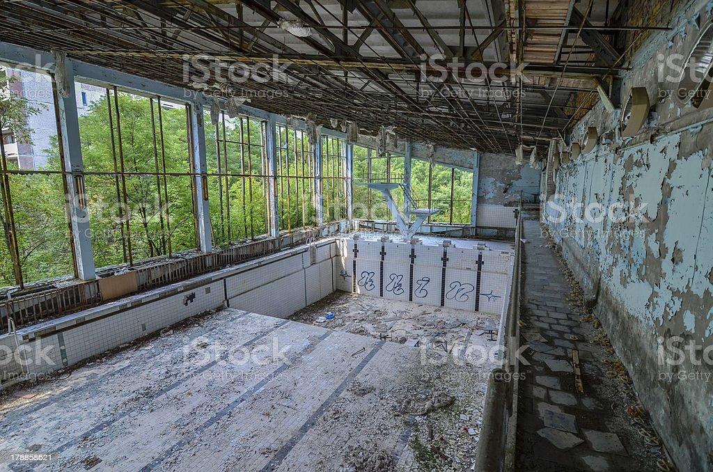 Abandoned Swimming Pool Pripyat Chernobyl Stock Photo Download Image Now Istock