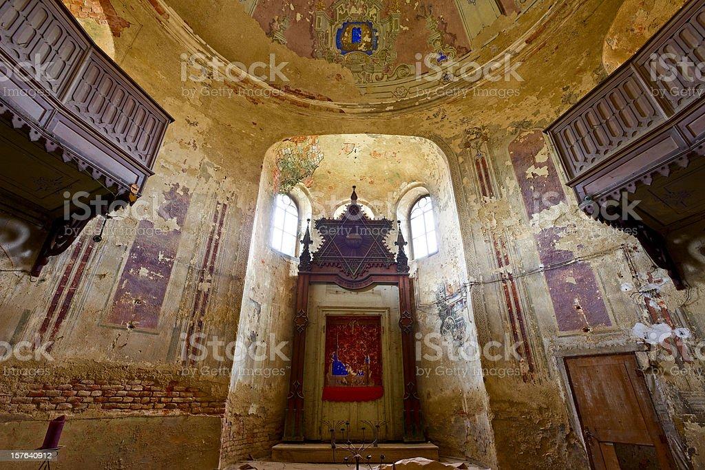 Abandoned Synagogue royalty-free stock photo