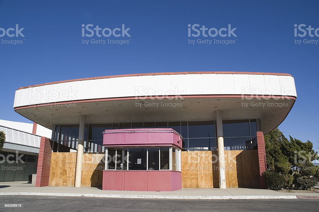 Abandoned Theater royalty free stockfoto