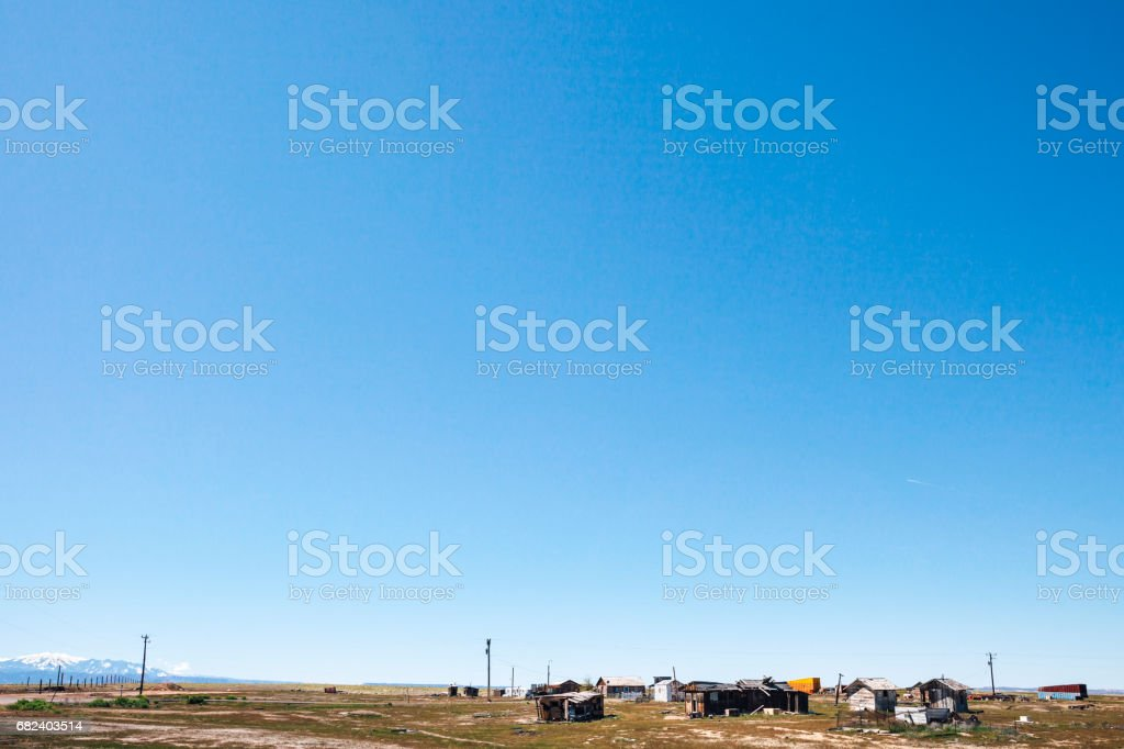 Abandoned town. Cisco, Utah. royalty-free stock photo