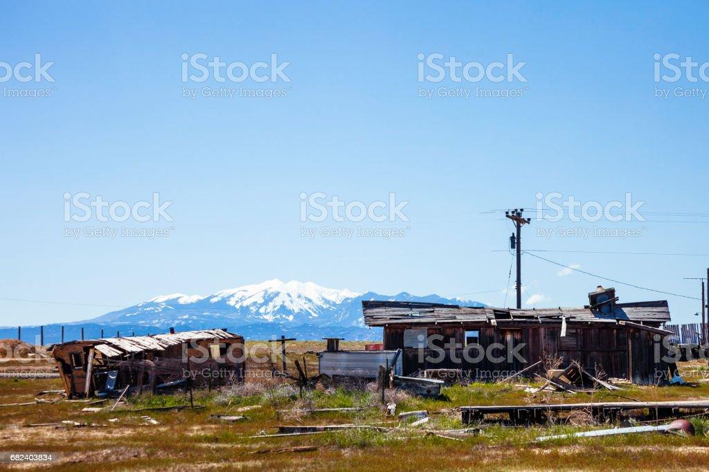 Abandoned town. Cisco, Utah. royalty-free stock photo