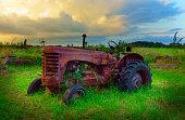 istock Abandoned Tractor 472092185