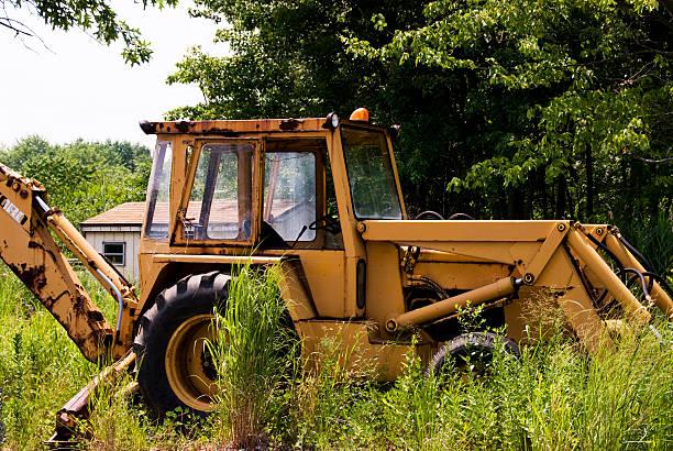 Abandoned Tractor stock photo