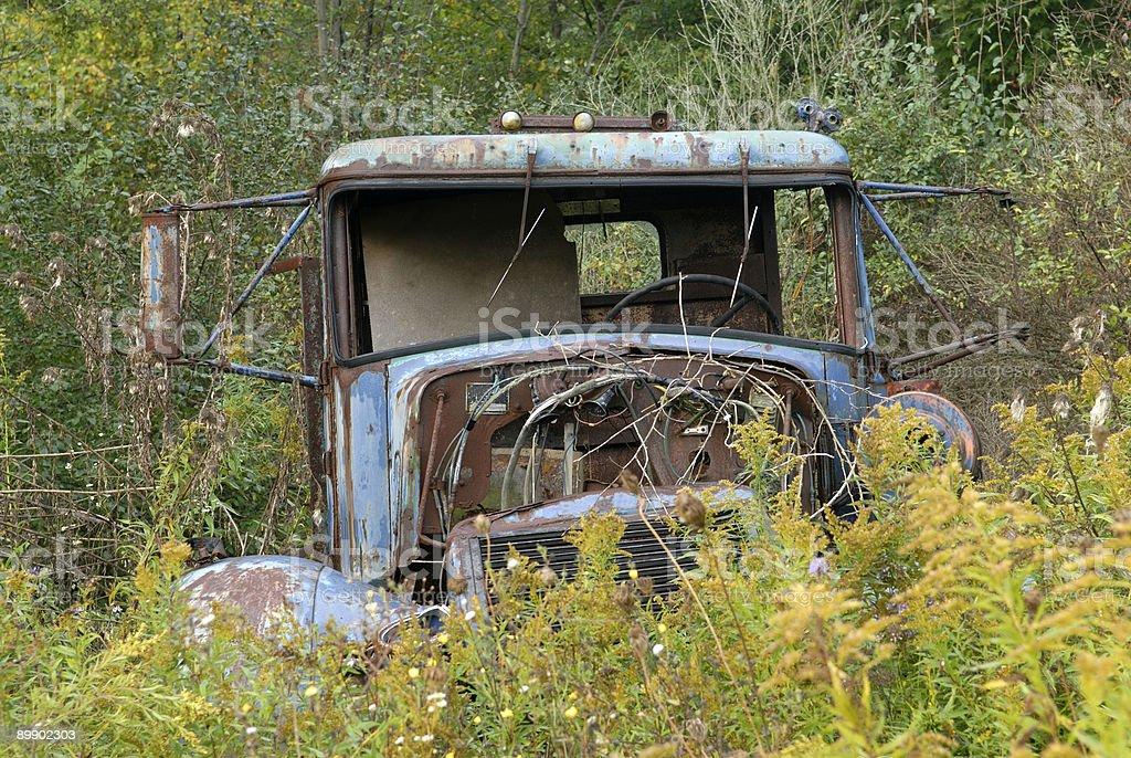 Abandoned Truck royalty-free stock photo