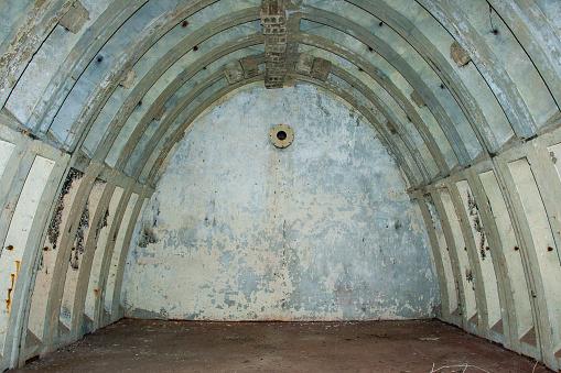 abandoned unfinished soviet bunker