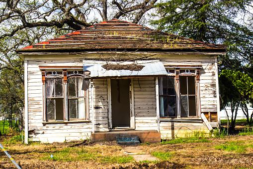 Abandoned Uninhabitable One Level Home