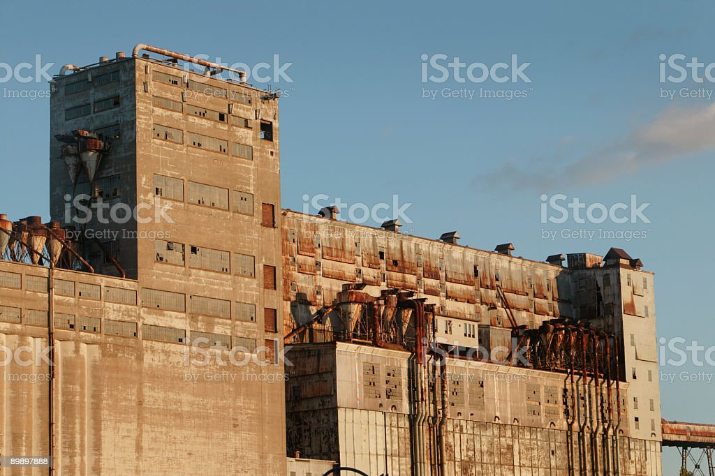 Abandonned factory royalty-free stock photo