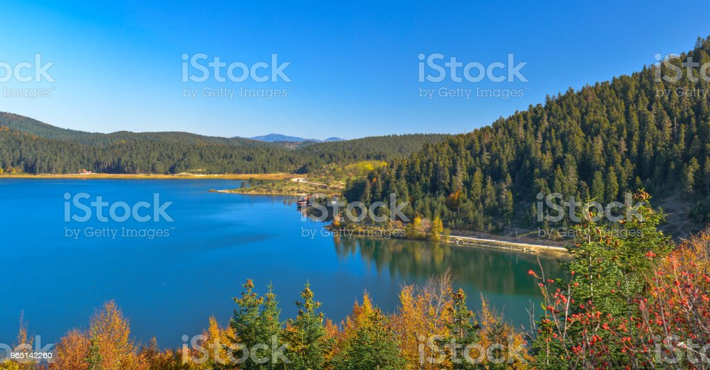 Abant Lake royalty-free stock photo
