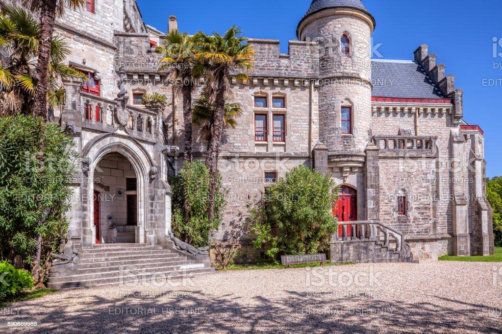 Abbadia Burg, Hendaye, Frankreich – Foto