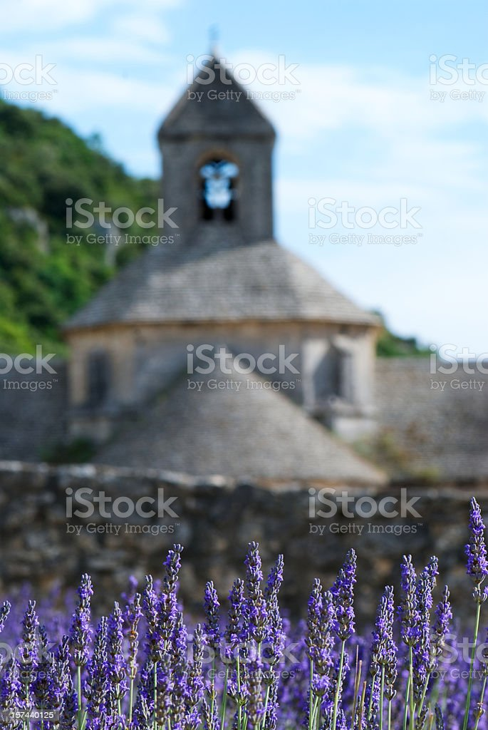Abbay de Senanque, France royalty-free stock photo