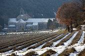 istock Abbaye de Senanque in winter 172413260