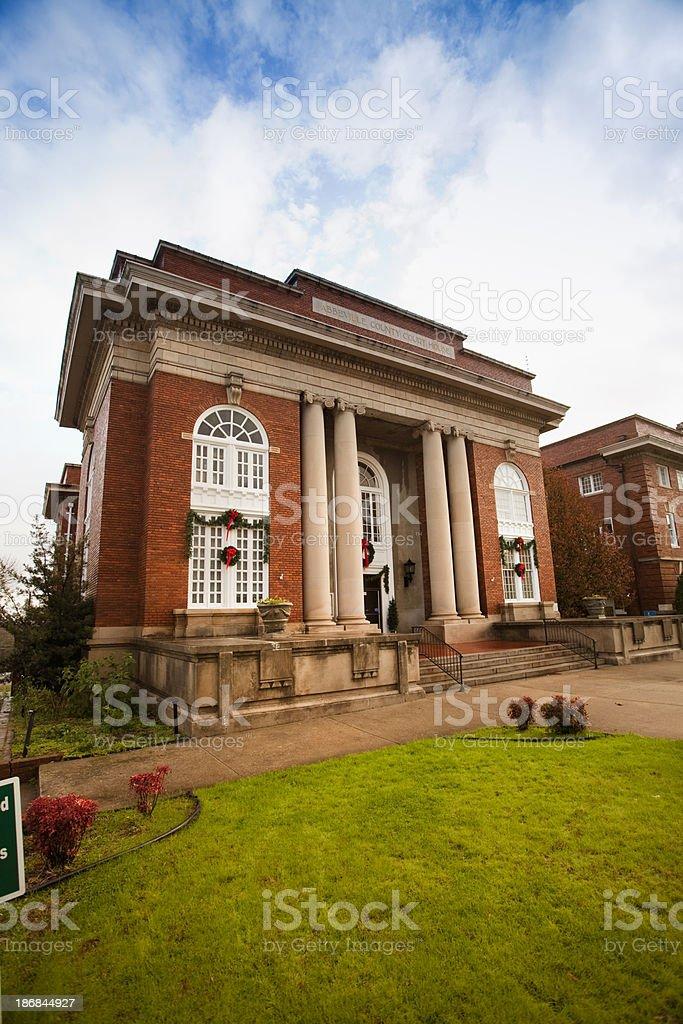 Abbeville South Carolina courthouse royalty-free stock photo