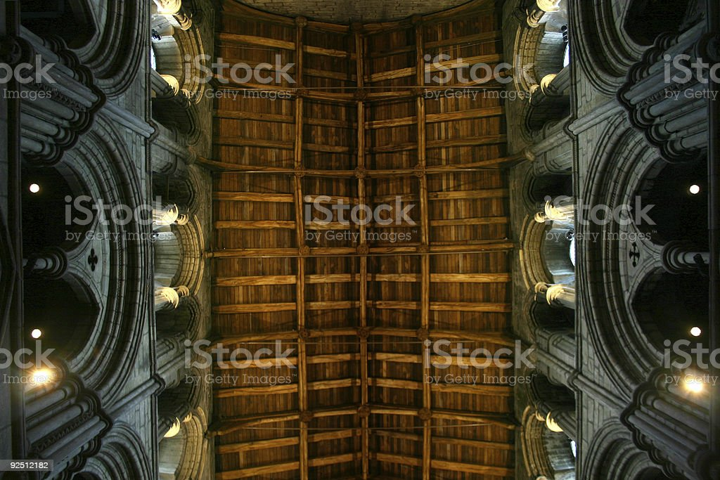 Abbey Church Roof royalty-free stock photo