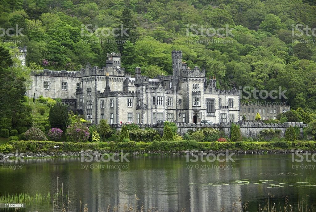 Abbey in Ireland stock photo