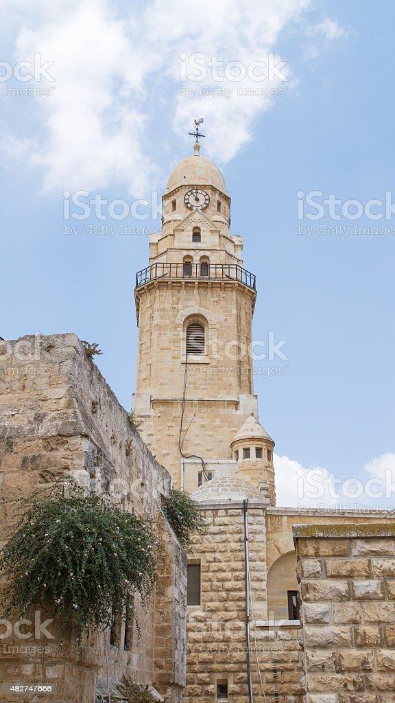 Iglesia de la dormición, Jerusalén - foto de stock