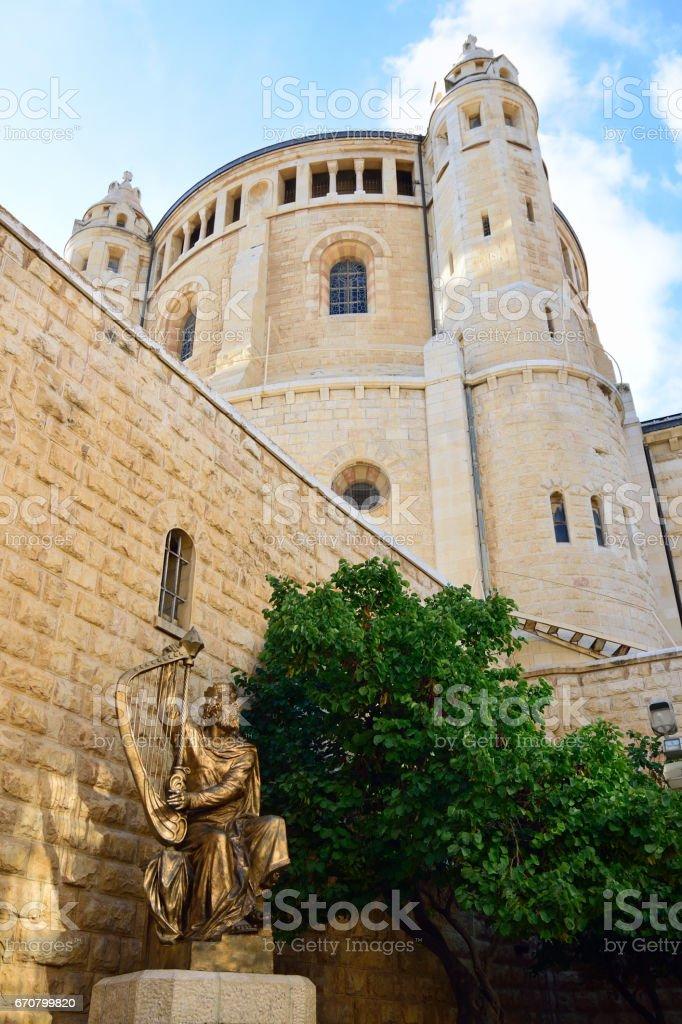 Abbey of the Dormition, Jerusalem. - foto de stock