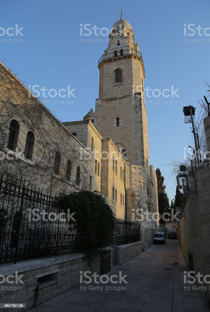 Iglesia de la dormición - foto de stock