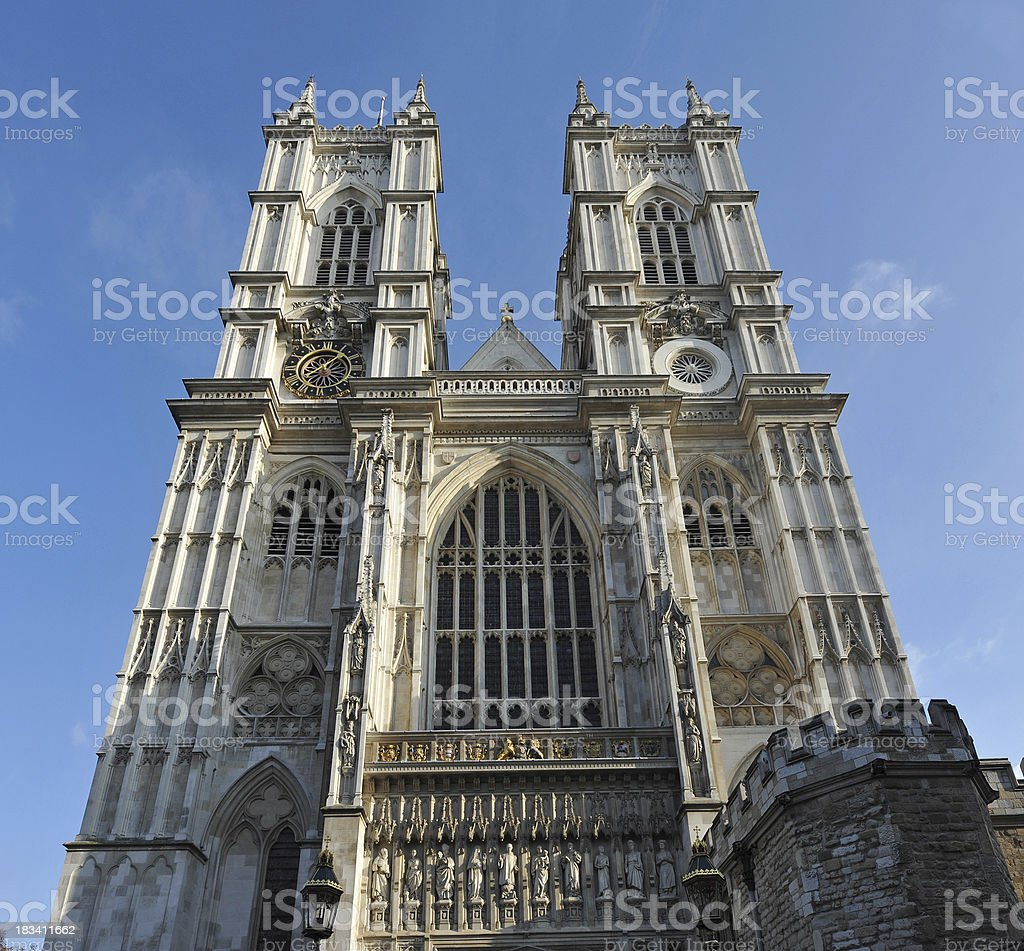 Abbey of Westminster royalty-free stock photo