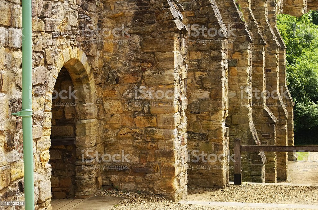 abbey royalty-free stock photo