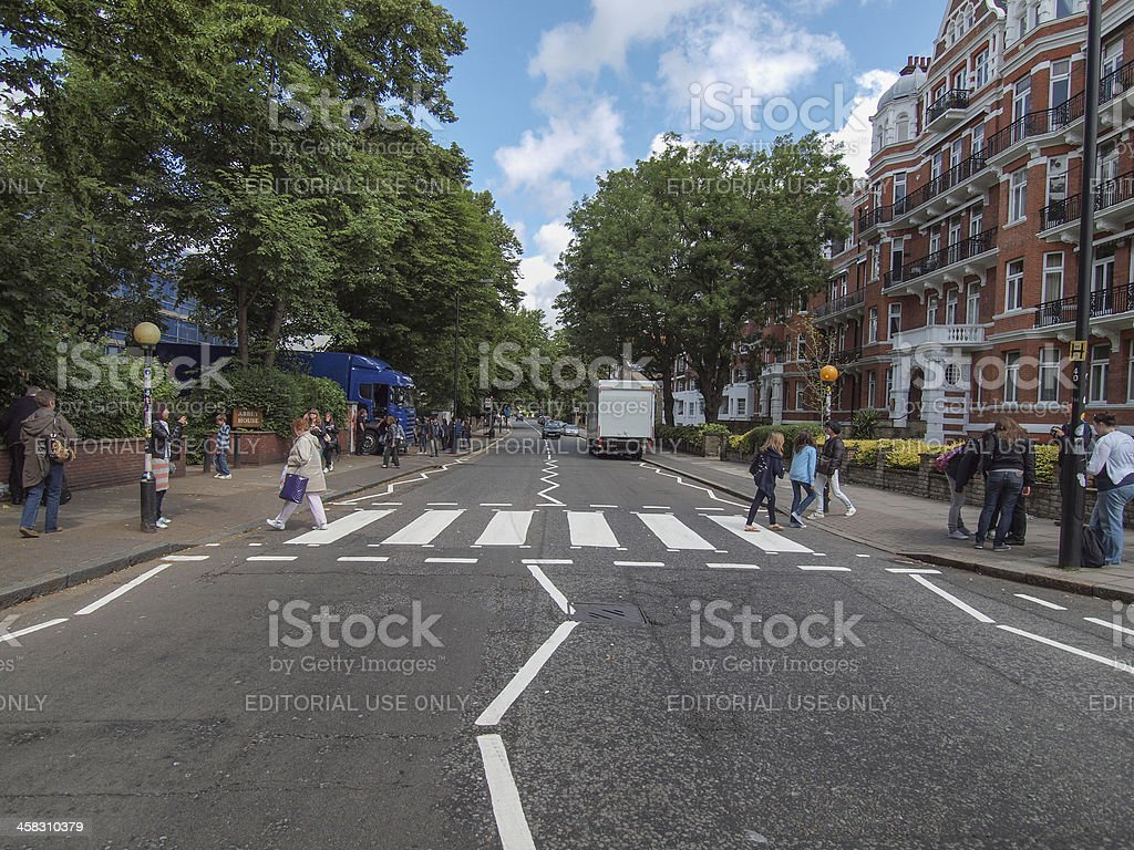 Abbey Road London UK - foto de stock