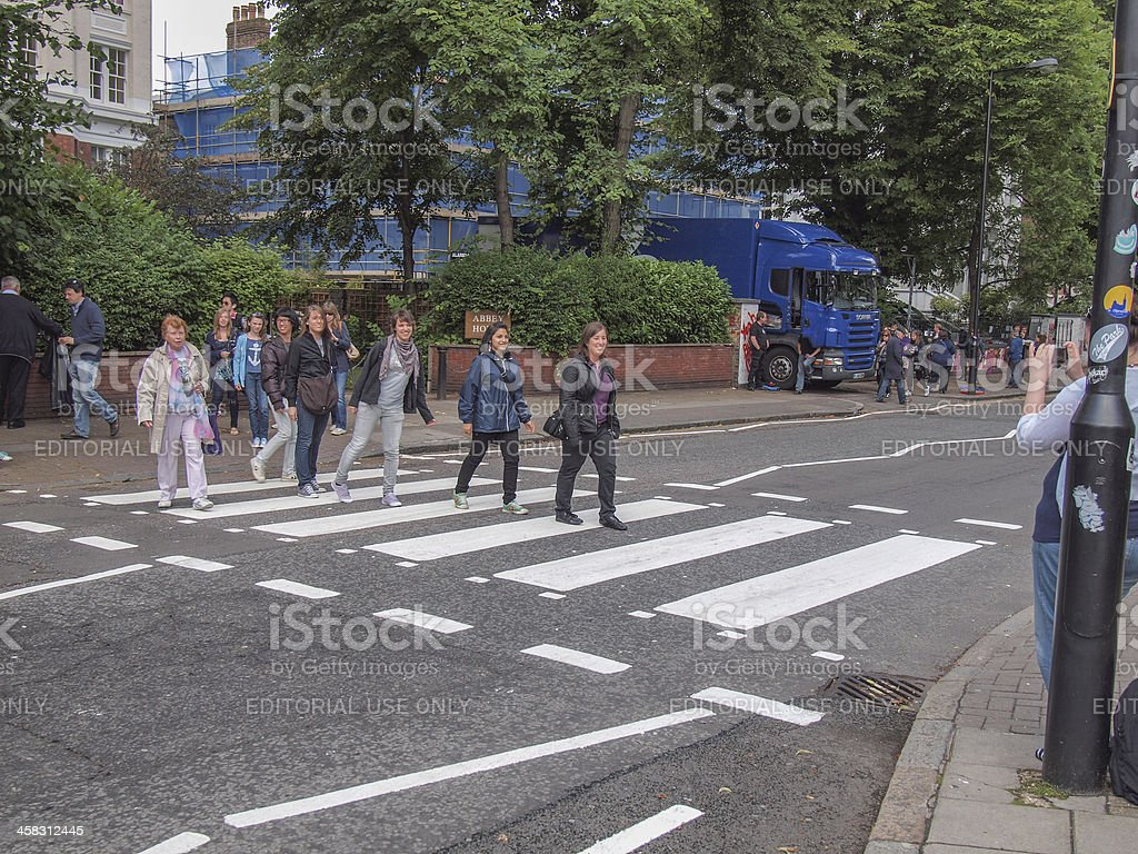 Abbey Road London UK stock photo