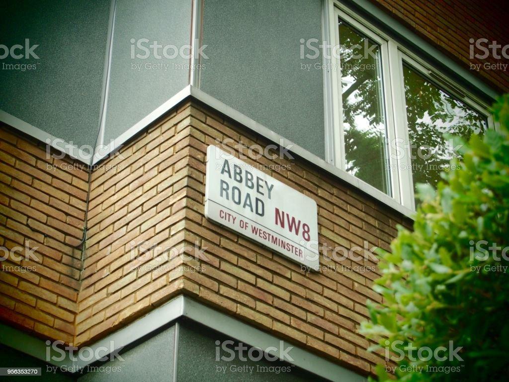 Abbey Road, London UK stock photo