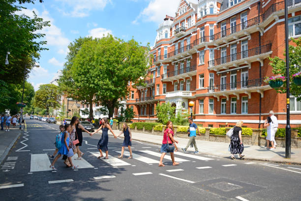 Abbey Road stock photo
