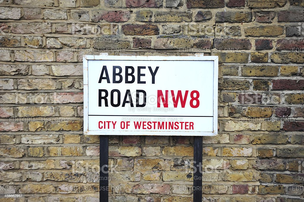 Abbey Road stock photo