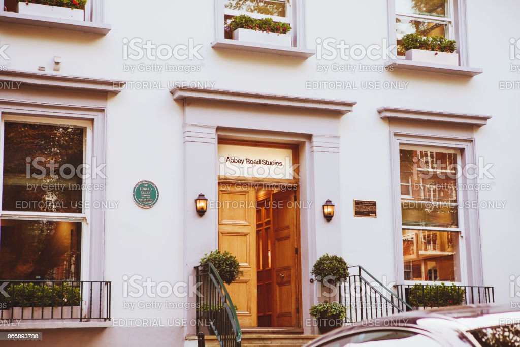 Abbey Road Recording Studios Made Famous By The 1969 Beatles