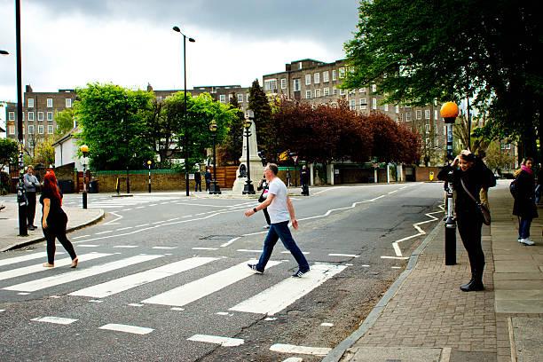 Abbey Road Studios crossing - foto stock