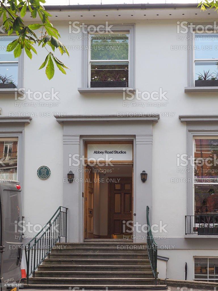 Abbey Road studios in London stock photo