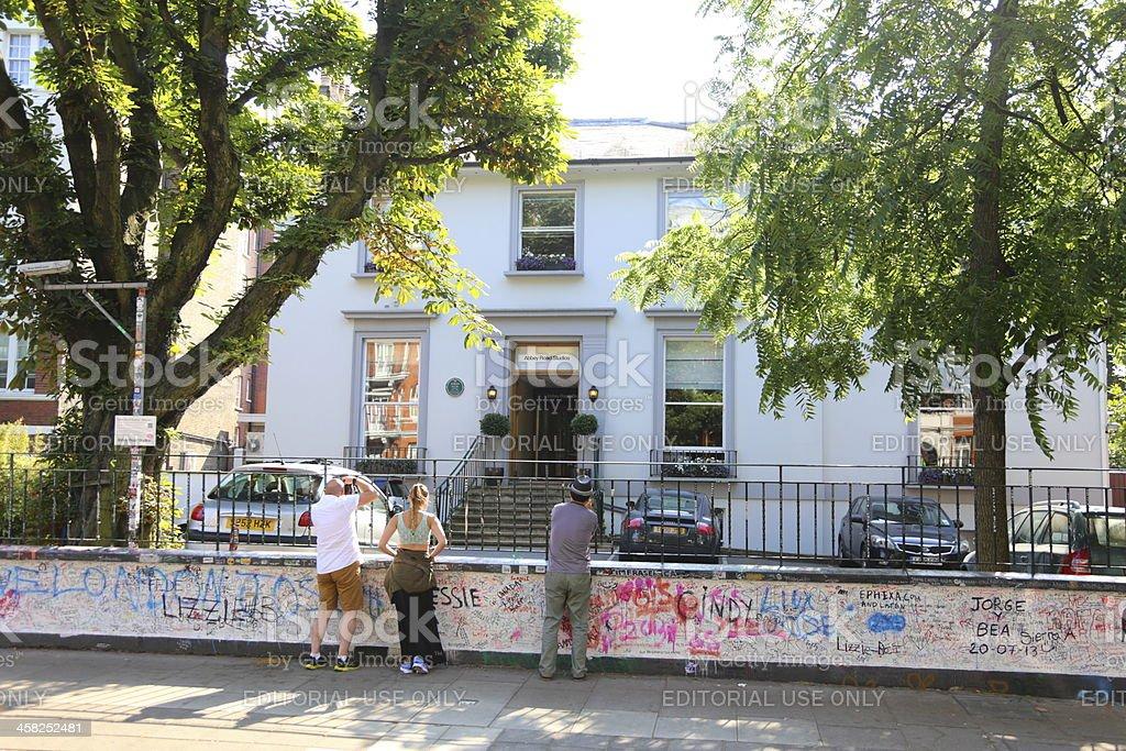 Abbey Road Studios stock photo