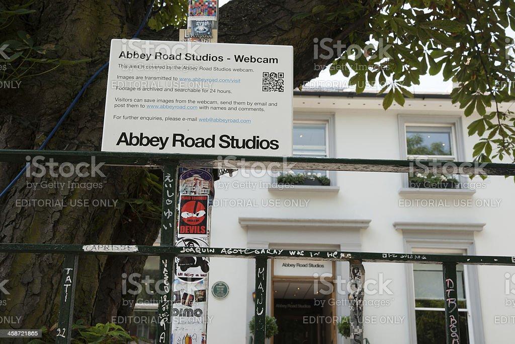 Abbey Road Studios. stock photo