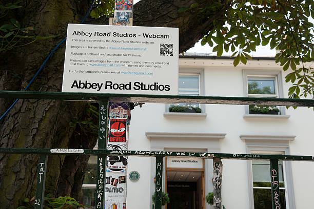 Abbey Road Studios. stock photo