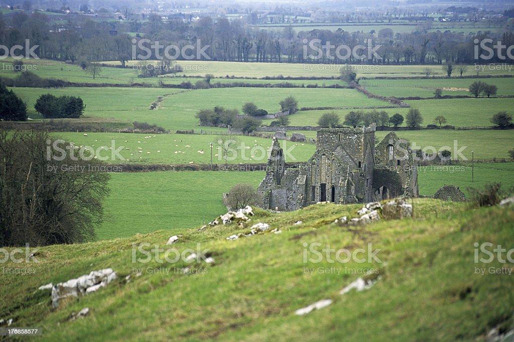 Abbey Ruin stock photo