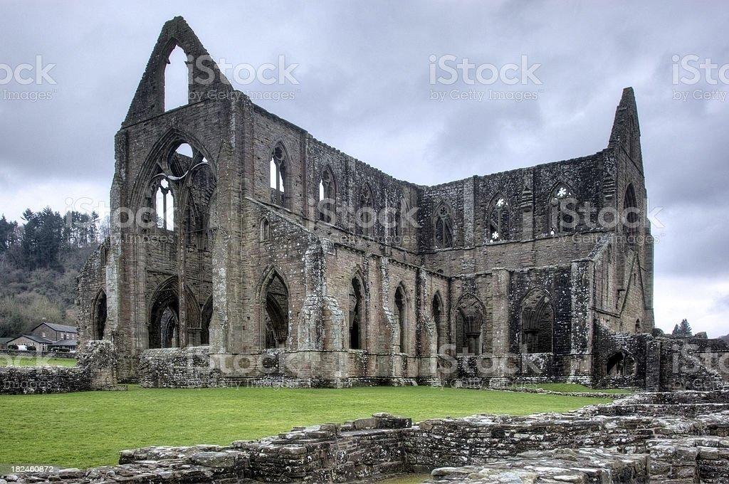 Abbey Ruina foto de stock libre de derechos