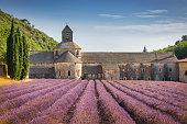 istock Abbeye de Senanque Lavender Field Provence in Summer France 1282599933